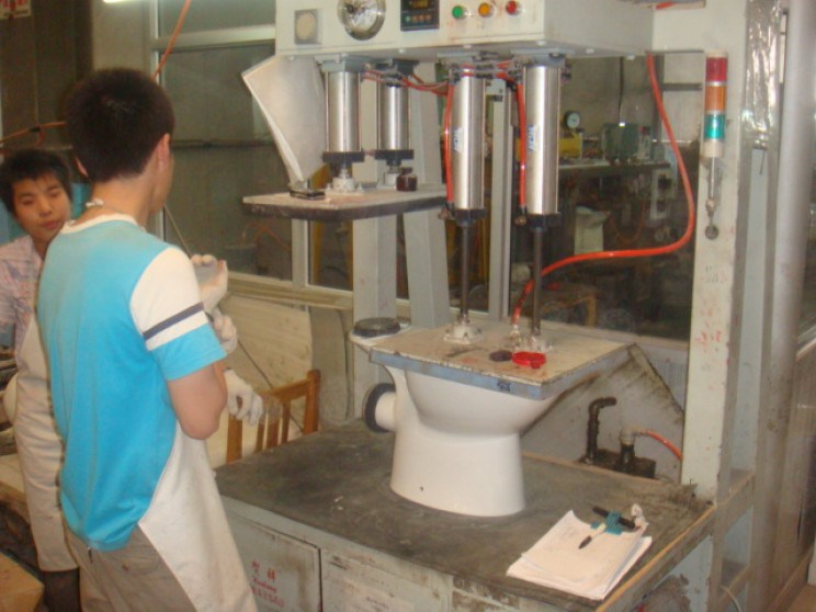 SHANGHAI BARCELONA TRADING ACCOMPANYING SPANISH COMPANIES TO THE SANITARY FACTORIES