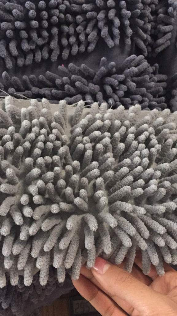 MANUFACTURE OF MICROFIBER MOPS