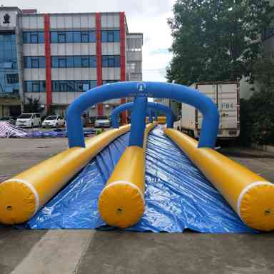 MANUFACTURE OF A 100 METER INFLATABLE FOR NATURLANDIA