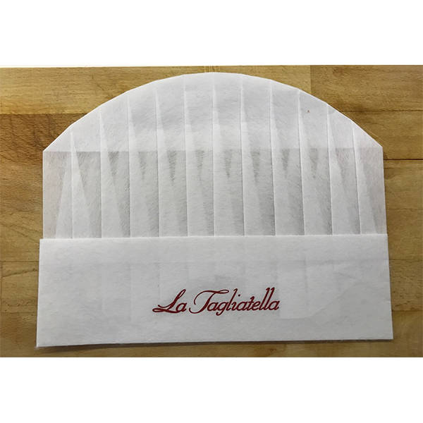 MANUFACTURING OF CHEF HATS 'LA TAGLIATELLA'