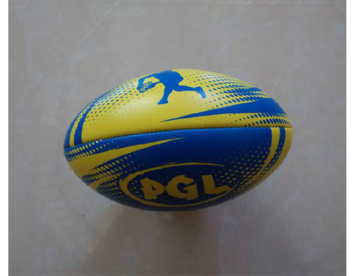Machine stitched rugby ball 6