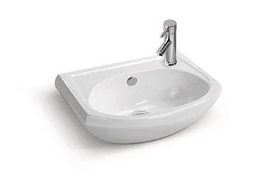 Ceramic counter basin for WC