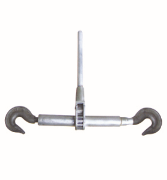 Sleeve type double hook tightener