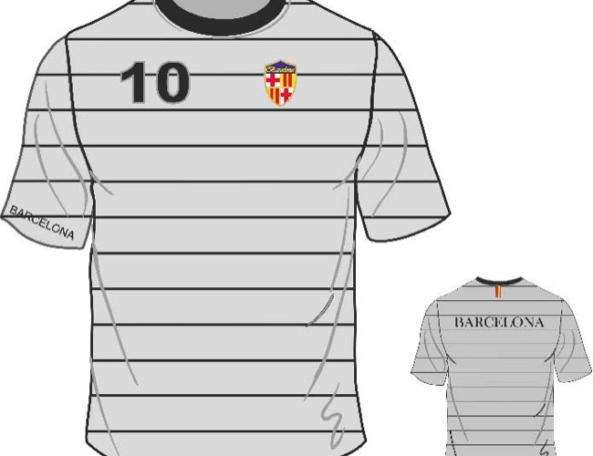 Camisetas Barcelona (Model.3)