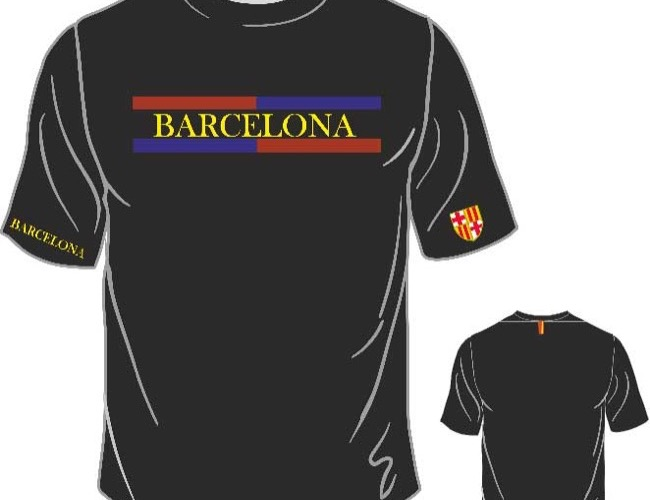 Camisetas Barcelona (Model.2)