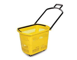 Shopping basket with wheels (45L)