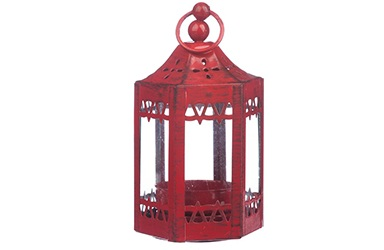 Candle light lantern decor
