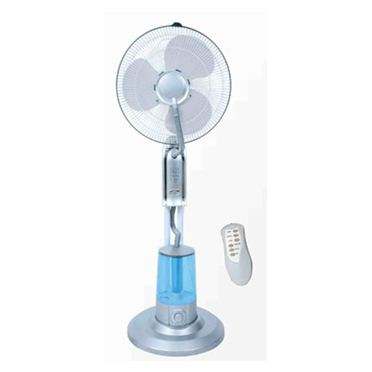 Humidifier water fan
