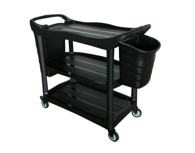 Utility Cart with Buckets