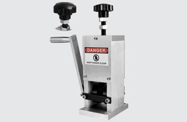 Manual and drill driven wire stripping machine